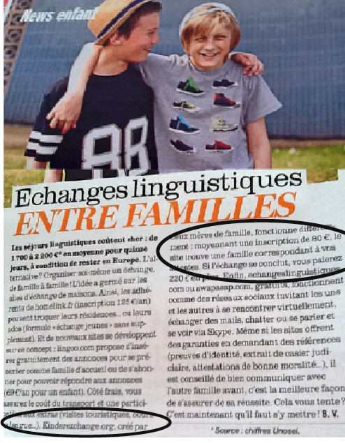 french language exchange