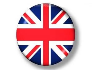 bouton drapeau anglais