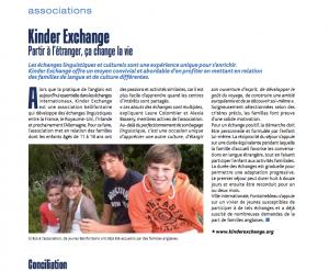 Échanges linguistiques pour les jeunes avec la France.