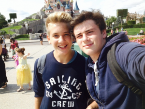 intercambio en Disney