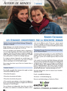 french exchange in France