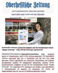 Article echanges linguistiques en Allemagne